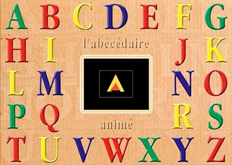 ABécédaire des lettres animées
