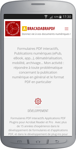 Application mobile abracadabraPDF