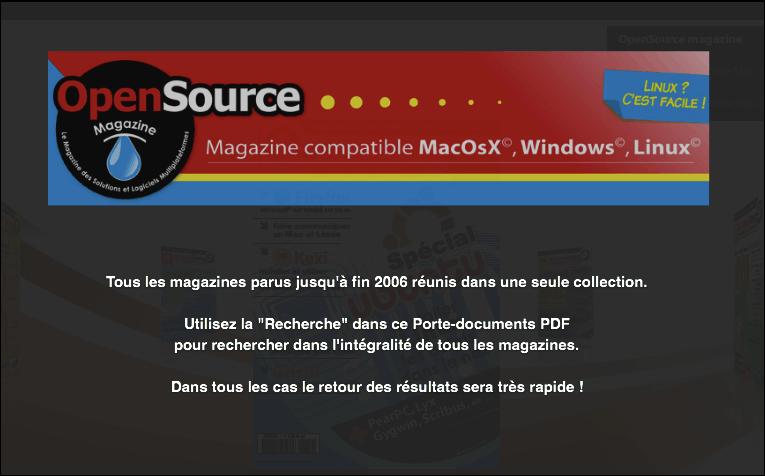 OpenSource magazine vignette