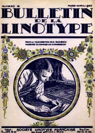Bulletin de la Linotype n°18 couverture