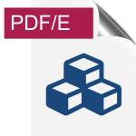 Icône de fichier PDF/E