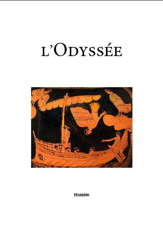 L'Odyssée, couverture