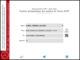 Open Data et PDF : exemple