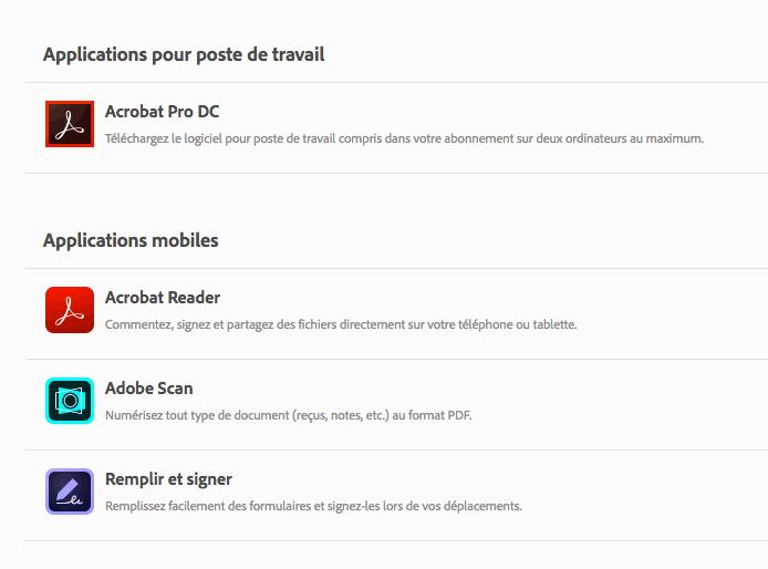Acrobat DC 2019 : nouveautés et améliorations