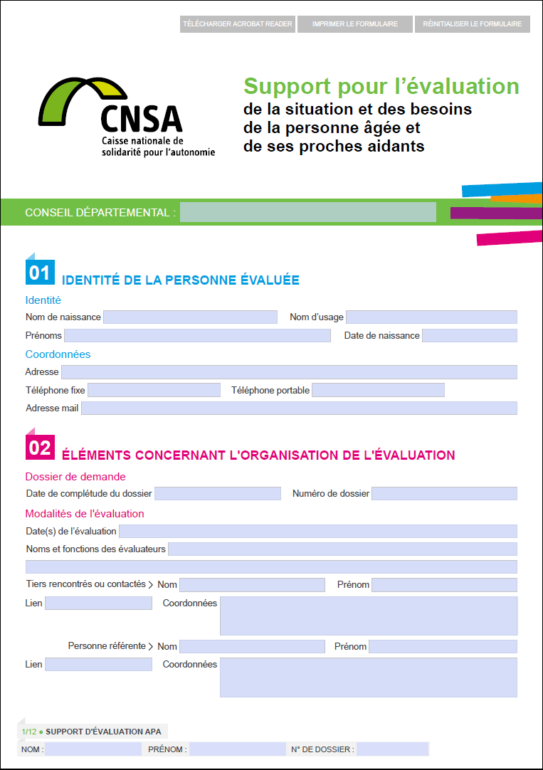 CNSA évaluation vignette