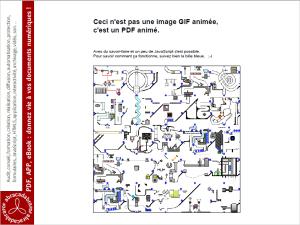 PDF animé