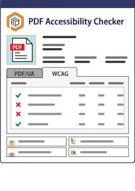 PDF Accessibility Checker 2021 interface
